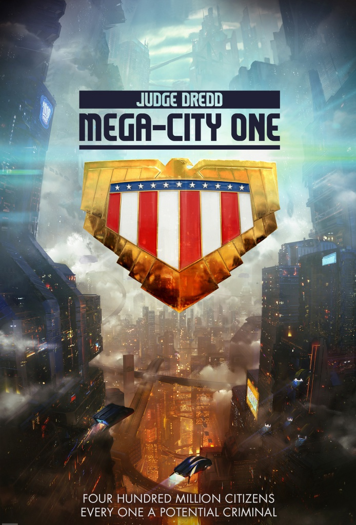 Постер к т/с Judge Dredd: Mega City One