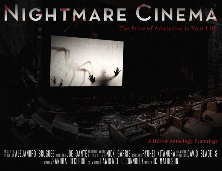 Постер к/ф Nightmare Cinema